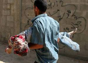 فاجعه انسانی در غزه