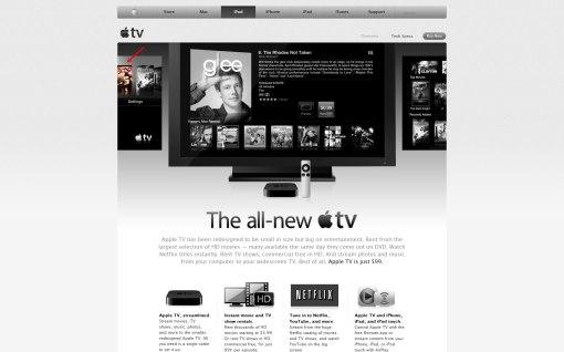 معرفی محصول جدید اپل با نام AppleTV و فیلم 300!
